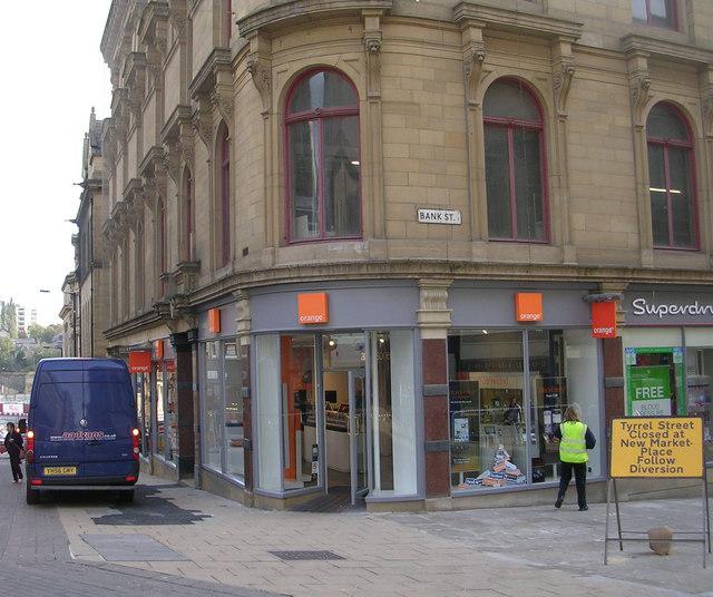 Orange - Bank Street