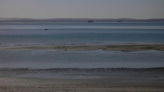Sandbank off Hayling Island