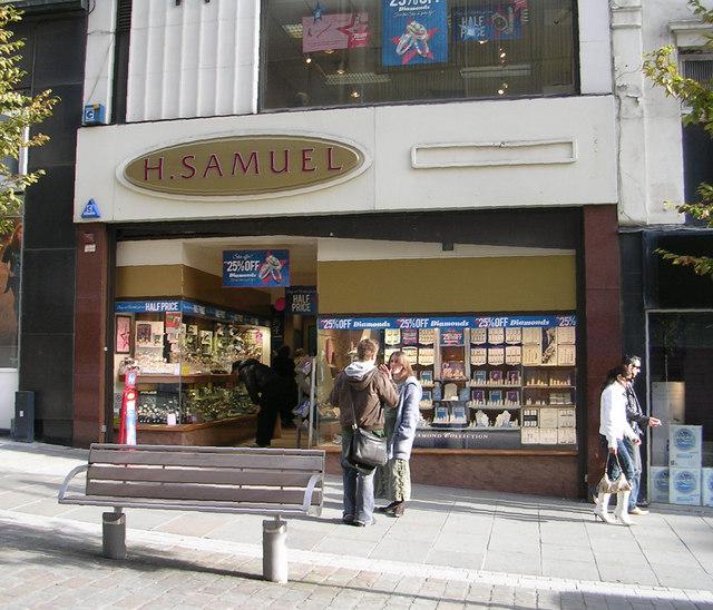 H Samuel - Darley Street