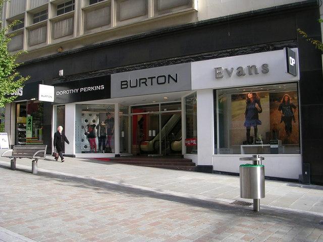 Burton etc - Darley Street