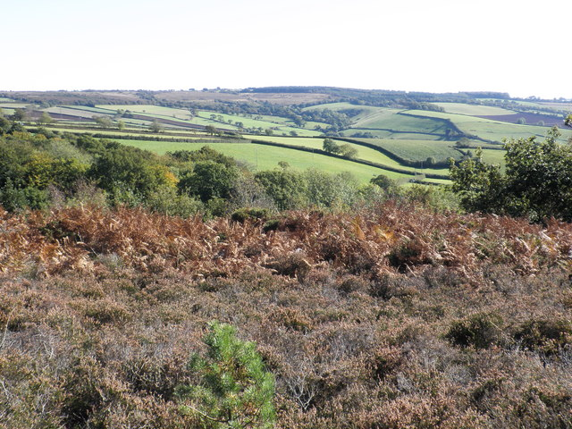 View towards Little Haldon