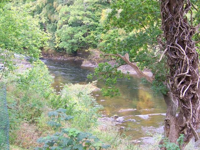 River Ericht near Lornty