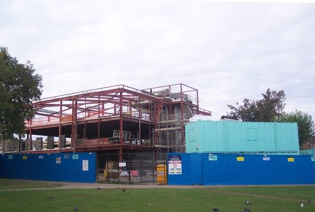 Balmoral Gardens Heatlth Centre now gets blockwork