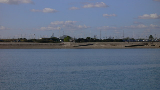 Eastney east shore seen from Hayling Island