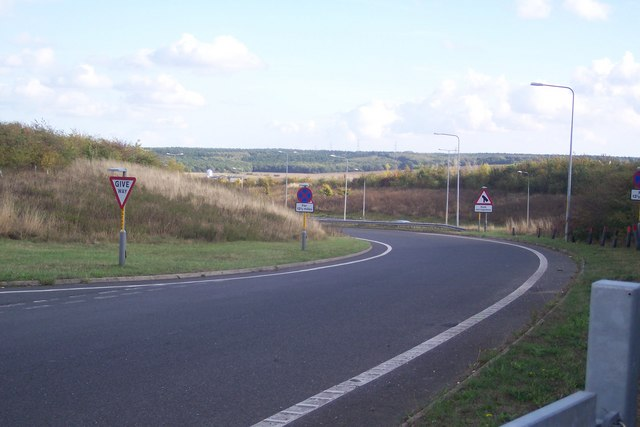 Link road to the A299 Dual Carriageway