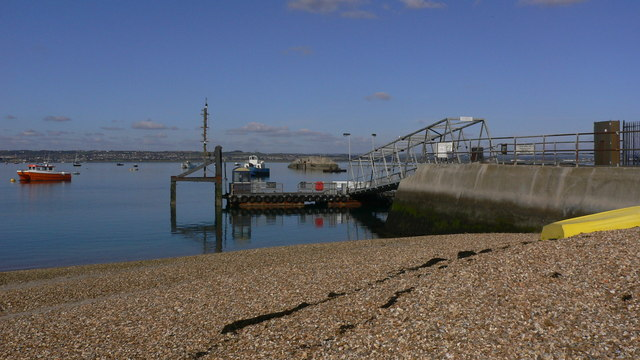 Landing stage on Hayling Island
