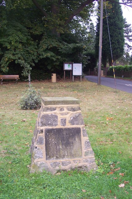 Millennium Marker in Ivy Hatch