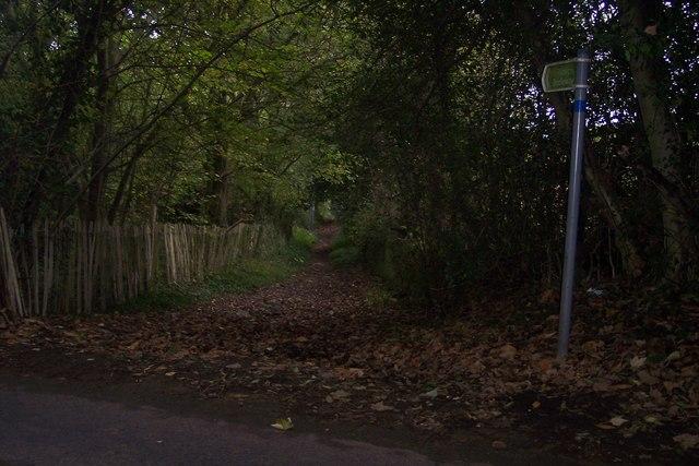 Bridleway to Mote Road