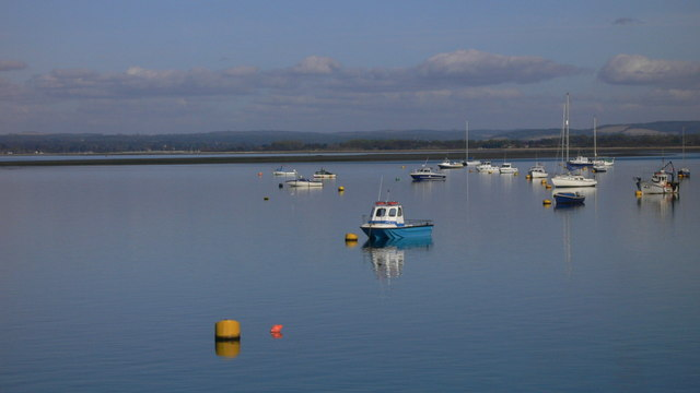 Langstone Harbour viewed from Ferry Point