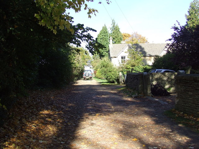 Footpath leading to Coberley