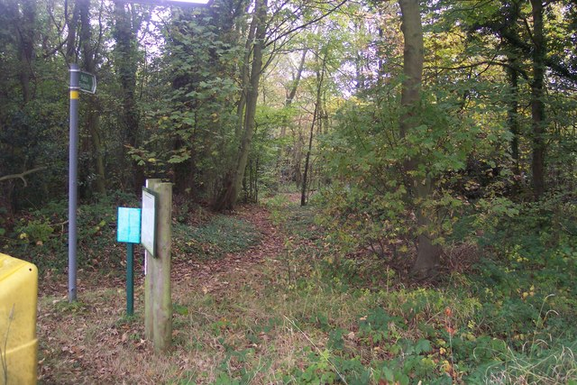 Footpath through Fawke Common