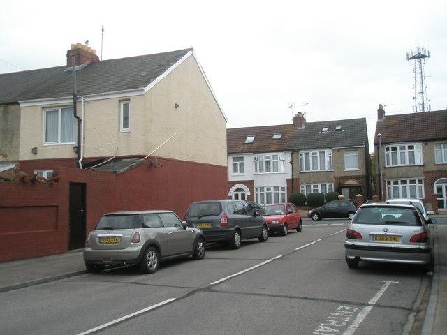 Junction of Wesley Grove and Devon Road