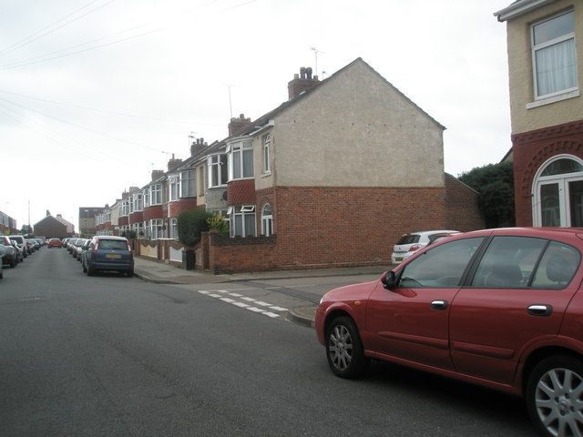 Junction of  Devon Road and Wesley Grove