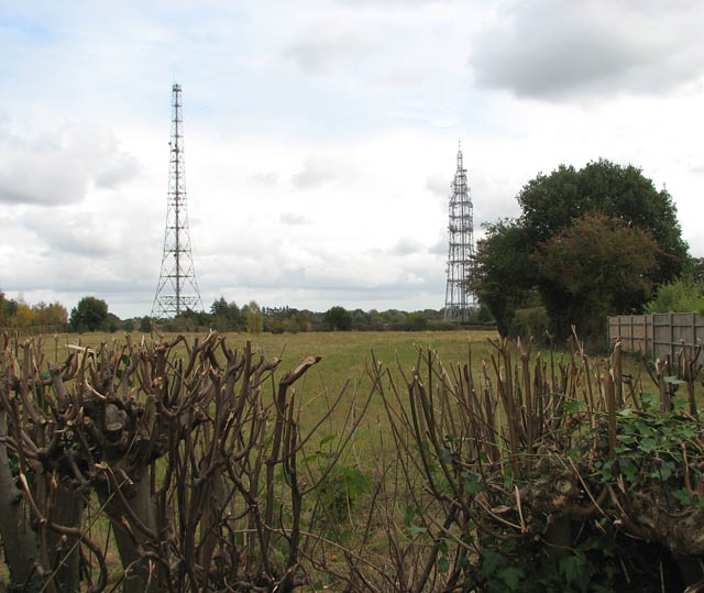High masts in Poringland