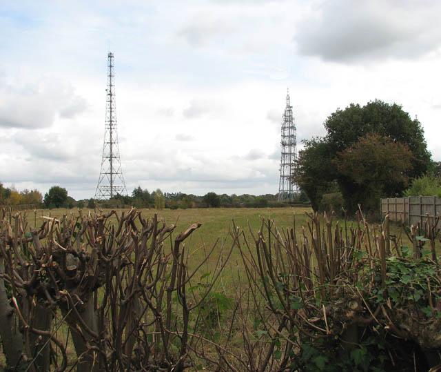 High masts in Poringland