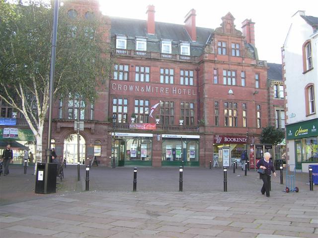 Crown & Mitre Hotel, Carlisle