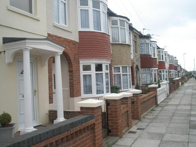 Houses in Aylen Road