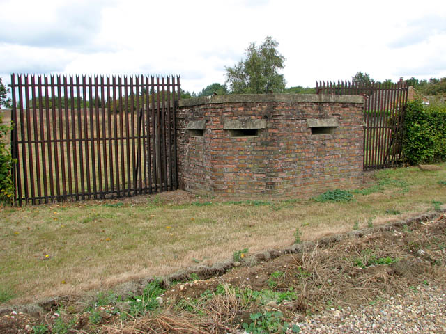 Pillbox by the former radar station