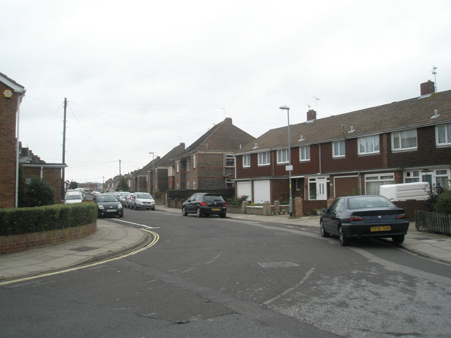 Approaching the boundary of Monckton Road and Aylen Road