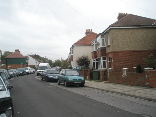 Parked cars in Monckton Road