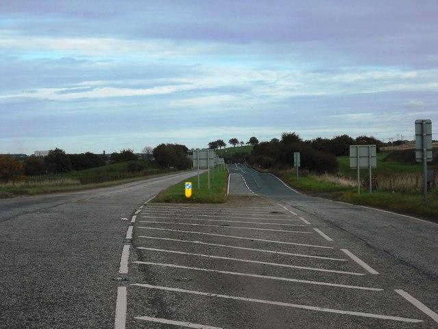 A71 east of Allanton