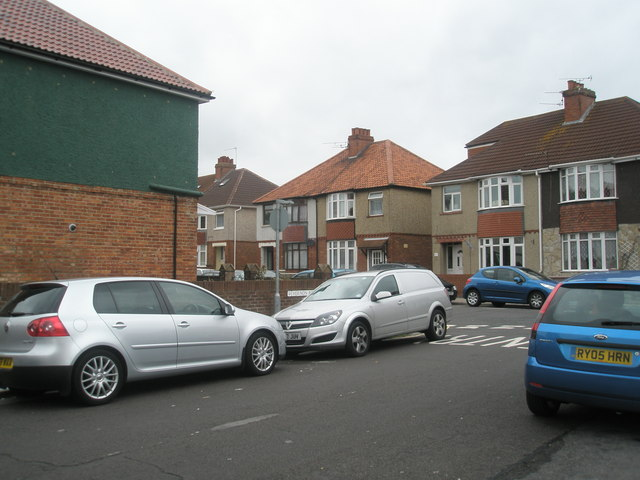 Junction of  Vernon Road and Monckton Road