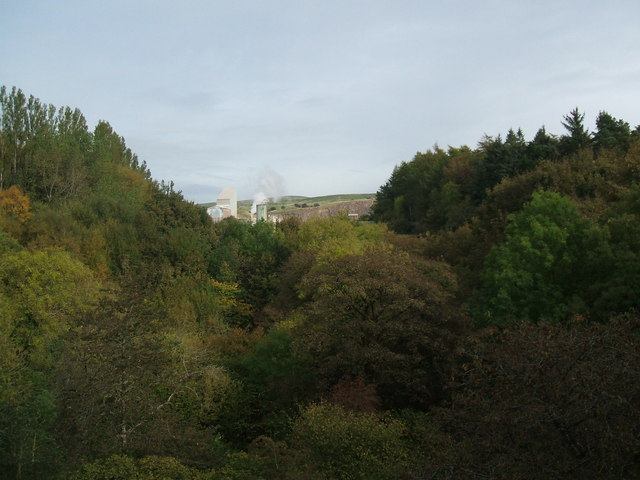 Hartley Quarry from Merrygill Viaduct