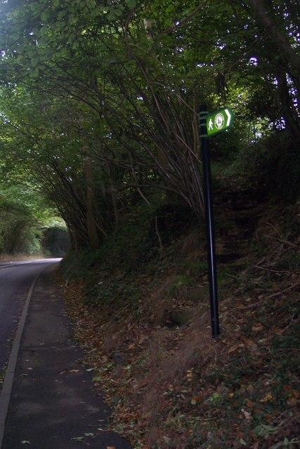 Greensand Way on A225 Riverhill