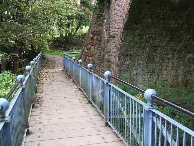 Eden footbridge
