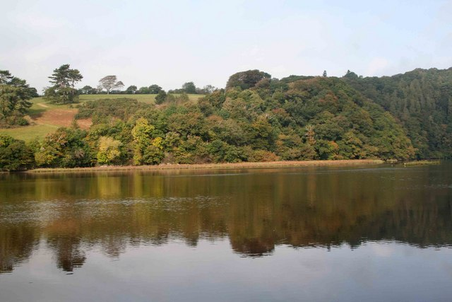 Looking across the Tavy from nr Creekside