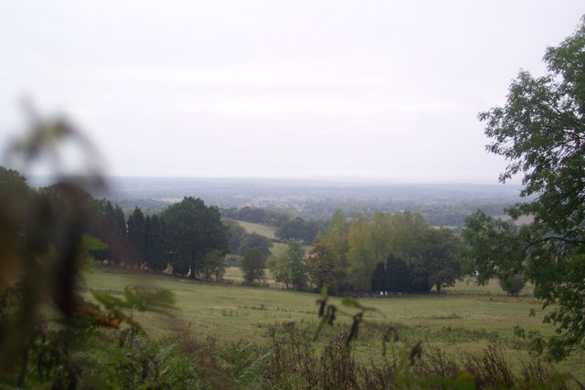 View from Greensand Way in Beechmont Bank