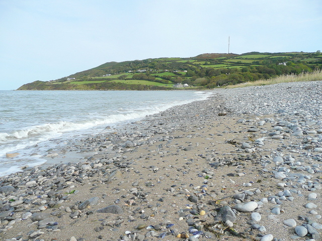 East end of Red Wharf Bay