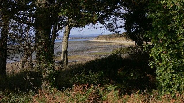 East coast of Hayling Island looking north