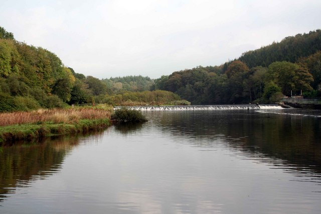Lopwell Dam on the River Tavy