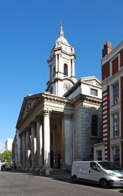 St George's Church, Hanover Square, London W1