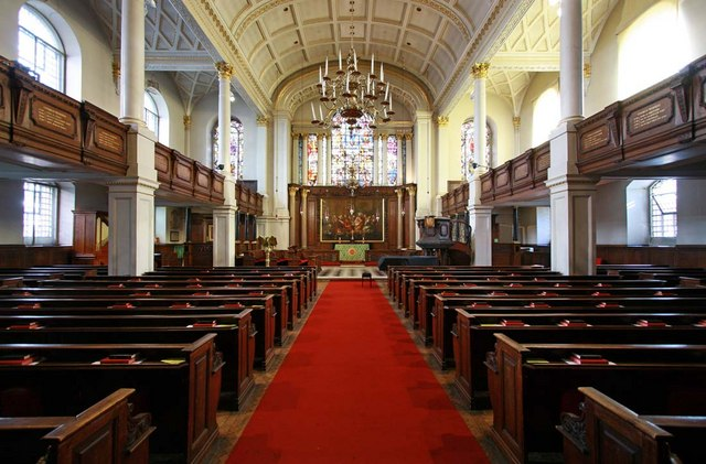 St George's Church, Hanover Square, London W1 - East end