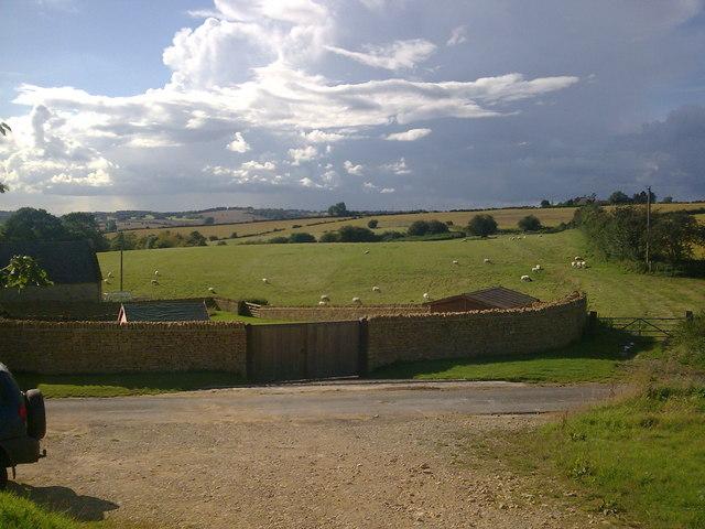 Farmland at Upper coberley