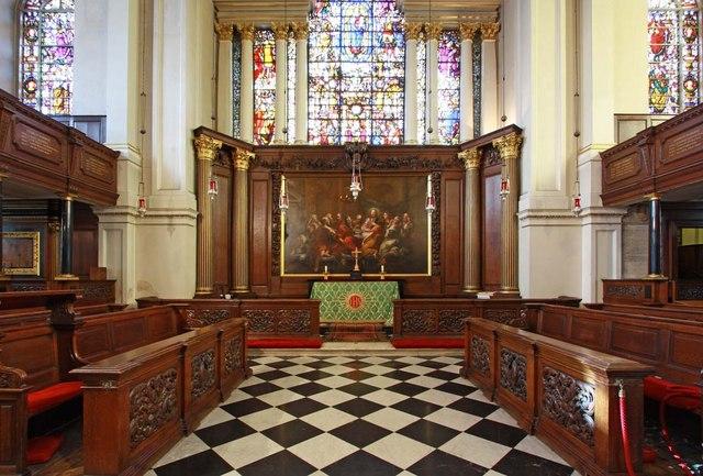 St George's Church, Hanover Square, London W1 - Chancel
