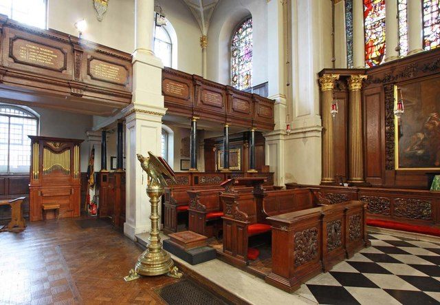 St George's Church, Hanover Square, London W1 - Stalls