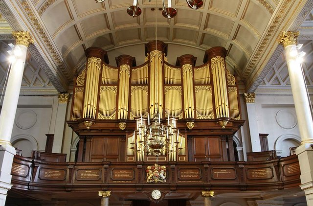 St George's Church, Hanover Square, London W1 - Organ