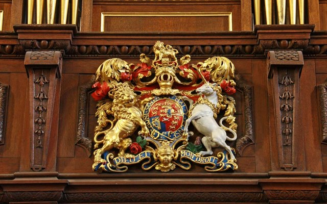 St George's Church, Hanover Square, London W1 - Royal Arms