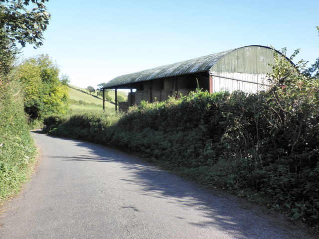 Barn, at Langdon Barton