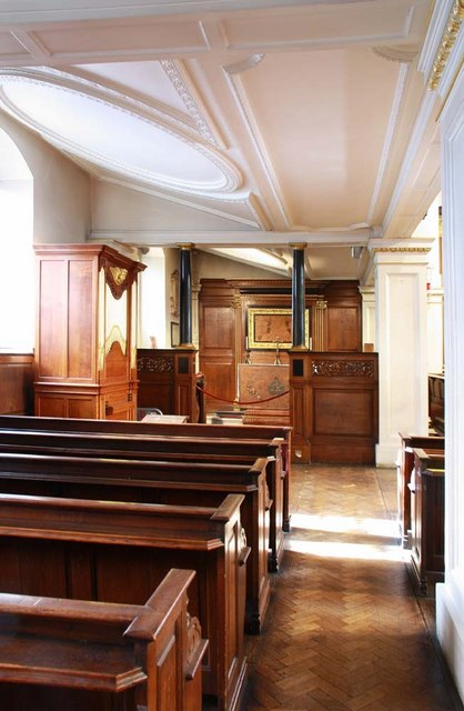 St George's Church, Hanover Square, London W1 - North aisle