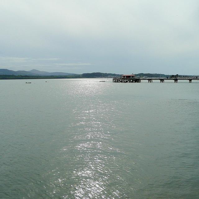 Beaumaris pier from The Green