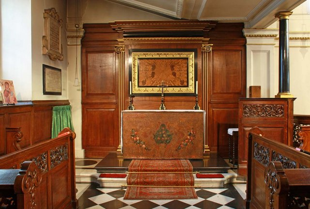 St George's Church, Hanover Square, London W1 - North chapel