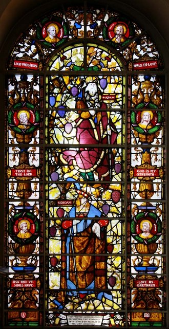 St George's Church, Hanover Square, London W1 - Window