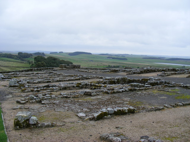The Barracks at Housesteads Roman Fort