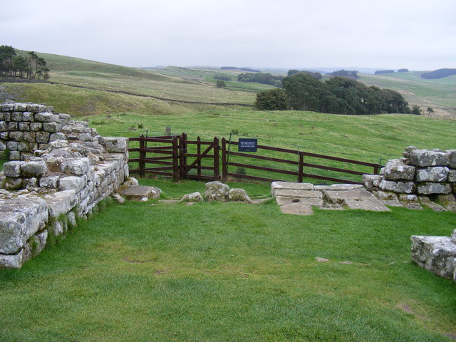 Kissing Gate at Housestead's Roman Fort