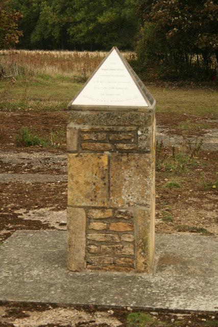 Glenn Miller Memorial at RAF Kingscliffe