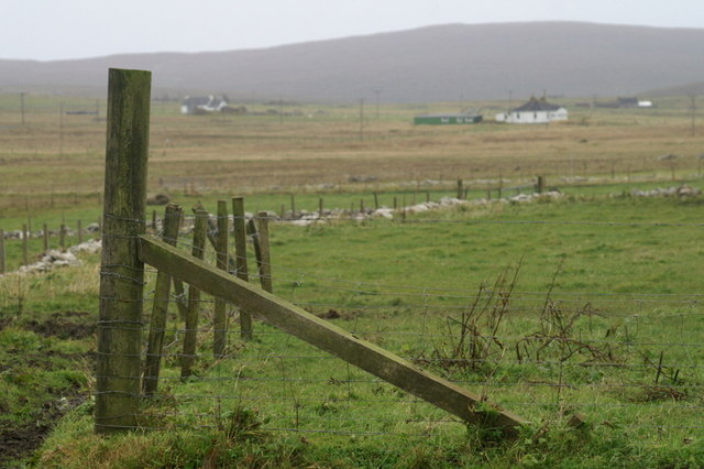 Strainer post, Haroldswick